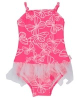 Seafolly Girls' Neon Pop Ballerina Tutu One Piece (6-24mos)