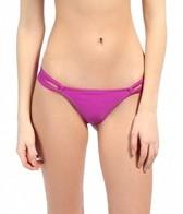 O'Neill Solid Loop Tab Side Thong Bottom