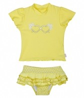 Seafolly Girls' Daisy Sunvest Rashguard Set (6-24mos)