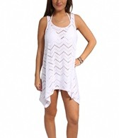 J.Valdi Chevron Crochet Tank Top