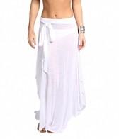Jordan Taylor Tulum Shirt Tail Flare Skirt