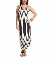 Jordan Taylor Tribal Racer Back Maxi Dress