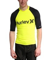 Hurley Men's One & Only Neon S/S Rashguard