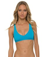 Rip Curl Mirage Solid Reversible Crossback Halter Top