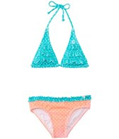Billabong Girls' Dot Triangle Set (4-14)