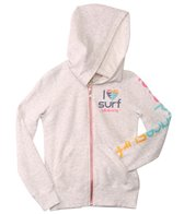 Billabong Girls' Candy Waves L/S Zip Hoodie (4-14)