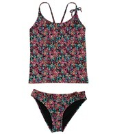 O'Neill Girls' Abstract Floral Tankini Set (7-14)