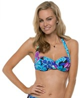 South Point Jungle Bloom Tiki Underwire Bikini Top