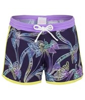 Platypus Girls' Tie Dye Birds Boardshort (8-14)