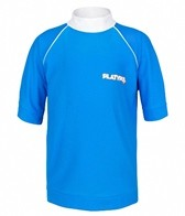 Platypus Boys' Burnt Orange S/S Rashguard (8-14)