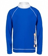 Platypus Boys' Burnt Orange L/S Rashguard (8-14)