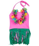 Shebop Girls' Solid One Piece Hula (2-10)
