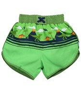 iPlay Boys' Mix 'n Match Ultimate Swim Diaper Panel Boardshort (6mos-4yrs)