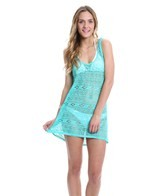 Hurley Women's One & Only Solids Crochet Tunic