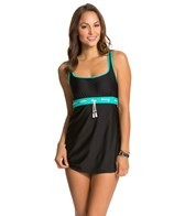Eco Swim Tassel Porthole Dress