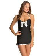 Eco Swim Eco Galaxy Dot Bow Halter Dress