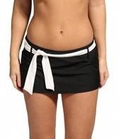 Eco Swim Solid Belted Skirtster