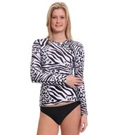 EQ Swimwear Zeetah L/S Rash Guard