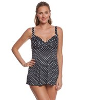 Prego Dot Twist Baby Doll Tankini