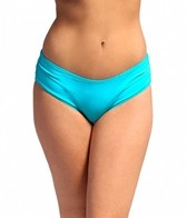 Coco Reef Embroidered Mirrors Side Shirred Bikini Bottom