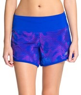 New Balance Women's Impact 4 Printed Running Short