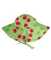 iPlay Girls' Lime Cherry UV Sun Protection Hat (0mos-4yrs)