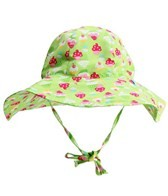 iPlay Girls' Lime Cupcakes Floppy Brim Sun Protection Hat (0mos-4yrs)