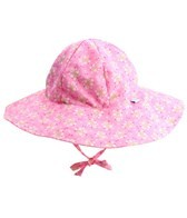 iPlay Girls' Pink Posies Floppy Brim Sun Protection Hat (0mos-4yrs)