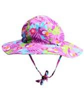 iPlay Girls' Lavender Toucan Floppy Brim Sun Protection Hat (0mos-4yrs)