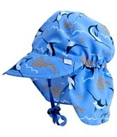 iPlay Boys' Periwinkle Swordfish Flap Sun Protection Hat (0mos-4yrs)