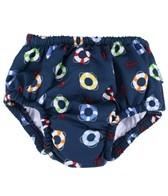 iPlay Boys' Navy Lifesaver Snap Swim Diaper (0mos-4yrs)