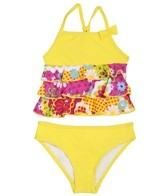 Sunshine Zone Girls' Fiona Tankini Set (6-18mos)