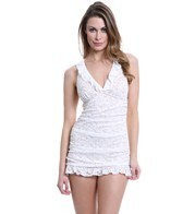 Jantzen Dolce Vita Lace Swim Dress