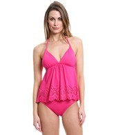 Laundry By Shelli Segal Andalusian Sunset Flounce Tankini Top