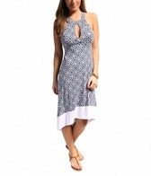 Laundry By Shelli Segal Seville Hi-Lo Dress