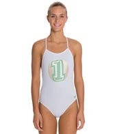 Speedo Golden One Fresh Back One Piece Swimsuit