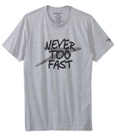 Speedo Men's Never Too Fast S/S Tee