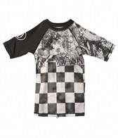 Volcom Boys' Manic S/S Rashguard (8-20)