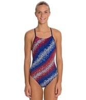 Speedo Endurance + Razor Dot Free Back Training Swimsuit