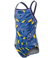 Speedo Endurance Lite Scoubidou Flyback Training Swimsuit