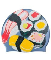 Speedo Sushi Boat Silicone Swim Cap
