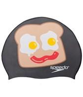 Speedo Wakey Wakey Silicone Swim Cap
