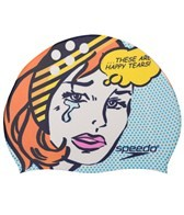 Speedo Pop Girl Silicone Swim Cap