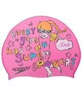 Speedo Girl Super Power Silicone Swim Cap