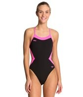 Speedo BS4H Color Block One Piece Swimsuit