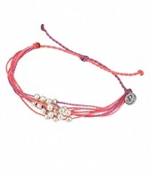 Pura Vida Platinum Fuchsia & Strawberry