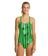 Nike Swim Dynamic Lines Spider Back Tank