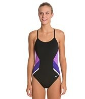 Nike Swim Poly Team Splice Cut Out Tank