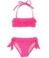 Seafolly Girls Oriental Garden Mini Tube Bikini Set (6-16)