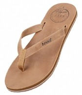 Reef Women's Skinny Leather Flip Flop